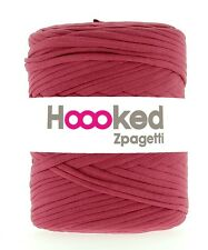 Hoooked Zpagetti Recycled T-shirt Jersey Yarn 120m Crochet Knitting Deep Red