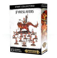 Start Collecting Fyreslayers Warhammer Age of Sigmar 40K NIB Flipside