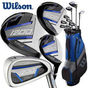 Wilson 1200 TPX Men's Full Package Set Graphite Shaft (Driver+3W+5H+6-SW+Putter)