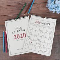 2020 Good Day Wall Calendar Agenda Organizer Calendar Daily Schedule Plan DD