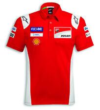 Ducati Alpinestars Corse GP18 Replica Polo T-Shirt Moto Gp Dovizioso Lorenzo New
