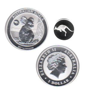 "Australien 1 $ Silbermünze Koala mit Privy ""Känguru"" 2017 1Oz Silber"