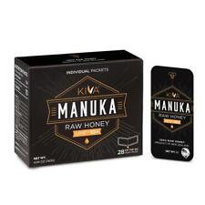 *NEW!*- Kiva Certified UMF 10+, Raw Manuka Honey SNAP-PACKETS (28 Count)