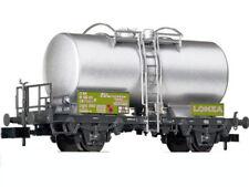 * Fleischmann Scala  N  841009/B 1 Cisterna Lonza Targhe Verde Acido SBB New OVP