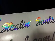 NEO CHROME Stealin Souls Vinyl Decal Sticker Ginger Humor Funny