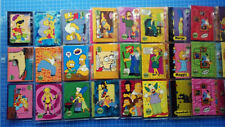 The Simpsons 10th Anniversary Celebration Trading Card Set COMPLETE 81 CARDS NEU