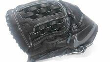 "Nike BF1726 MVP Edge 11.5"" Youth Basket Baseball Fielding Glove Black/Grey Right"