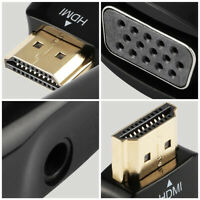 HDMI Male to VGA Female 1080p Video Converter Adapter Cable for PC HDTV  Mgic