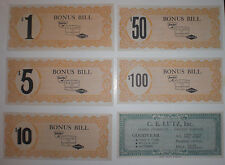 Sinclair Goodyear C E Lutz Elizabethtown PA bonus dollars dealer promotion