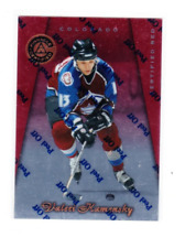 1997 1997-98 PINNACLE CERTIFIED VALERI KAMENSKY RED 67 COLORADO AVALANCHE