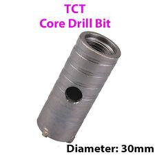 30mm (W) TCT Nucleo Drill Bit-FORO Circolare cutter-Per Muratura Cemento