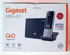Gigaset S850A GO Single silber/schwarz Telefon- Ausstellungsstück