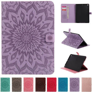 For iPad 5/6/7/8/9th Gen Mini Air Pro 11 12.9 Flip Leather Card Stand Case Cover