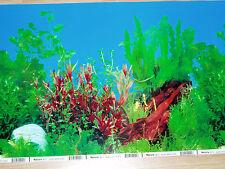 FONDO DECORATIVO DE  ACUARIO 60 cm X 30 cm de altura.paisaje,terrario,pecera .