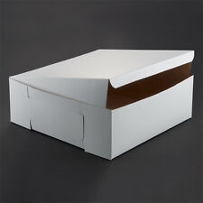 "Cake / Bakery Box 14"" x 14"" x 5 1/2"" 50/Bd -Fast Shipping"