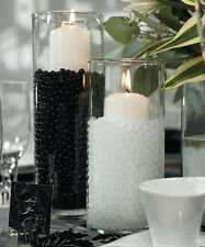 Black Water Crystals Beads - 4oz - Weddings Candles