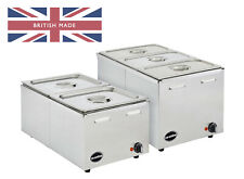 More details for electric bain marie wet & dry heat 1/1gn - ceonline olgbm2 different pan options