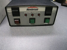 Isuzu Diesel Engine Henderson Hx19688 Engine Start Control Box Assembly Console