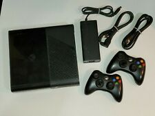 2013 Microsoft Xbox 360 E Console with Two Controllers. Used. Tested!