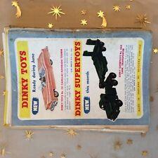 g1k ephemera vintage advert dinky supertoys no 131 cadillac 660 transporter
