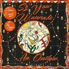 STEVE EARLE SO YOU WANNABE AN OUTLAW DIGIPAK CD NEW