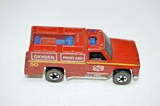 Hot Wheels 1974 Emergency Vehicle Redline #50