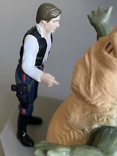 Vintage Star Wars Han Solo & Jabba the Hutt Figure
