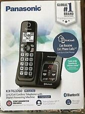 REFURBISHED  Panasonic KX-TG3760 Link2Cell Cordless Telephone With Digital Answe