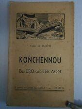 Yann ar Floc'h - KONCHENNOU - 1950 - Texte en breton .