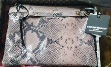 Laura Di Maggio Snake Print Clutch NWT Dust Bag Gift Box