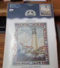 DMC Counted Cross Stitch Kit Lighthouse K3336US NIP