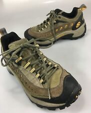 Merrell Womens 8 Hiking Trail Shoes Pulse Sage Green Yellow