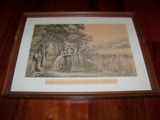 "The Four Seasons of Life: Youth by Currier & Ives Framed Print ~17"" x 13"""