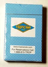 Vintage Las Vegas Tropicana Casino Hotel Playing Cards Sealed Free Shipping