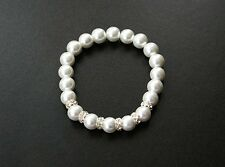 Pearl Stretch Beaded Costume Bracelets