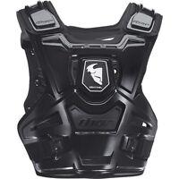 THOR SENTINEL CHEST PROTECTOR BLACK BODY ARMOUR ADULT SM/MD MOTOCROSS MX BMX MTB