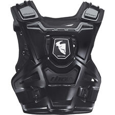 Thor Sentinel Chest Protector Black Body Armour Adult Sm/md Motocross MX BMX MTB