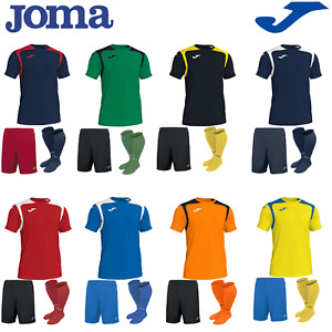 JOMA FOOTBALL FULL TEAM KIT MATCHING SOCCER STRIP TRAINING TEAMWEAR KIDS MENS