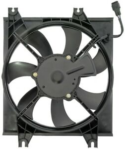 FITS 2000-2005 HYUNDAI ACCENT AUTOMATIC TRANSMISSION A/C CONDENSER COOLING FAN