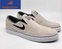 Nike SB Zoom Stefan Janoski Slip On Skate Shoes Tan 833564-002 Mens Size 10.5