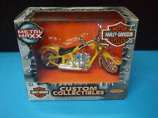 METAL MAXX HARLEY DAVIDSON FLSTF FAT BOY MOTORCYCLE 1:17