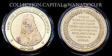 Médaille Louis XIII Monarque, Sage et Pacifique Argent recouvert d'Or
