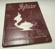 Austintown Fitch High School yearbook - 1951 Reflector - Austintown Ohio VGC