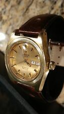 TISSOT COIN RIDGE BEZEL CASE PR 516 AUTOMATIC MENS WATCH, NICE 70'S VINTAGE!