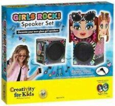 Creativity For Kids Girls Rock! Speaker Set New