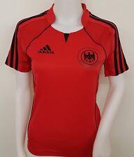 adidas Damen DHB Deutschland Trikot Handball WM EM Shirt GER FED Jersey rot  O