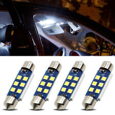 4Pcs 41MM 3030 6SMD C5W Dome Canbus Car LED Light Bulb White durable bulbs