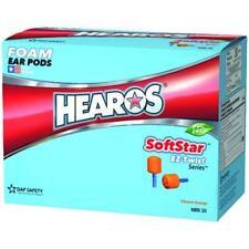 Hearos SoftStar EZ Twist No-Roll Foam Ear Plugs (NRR 30) (100 pairs - Corded)