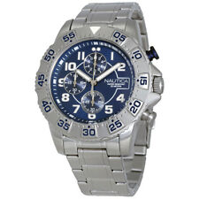 Nautica Chronograph Navy Dial Mens Watch NAD16003G