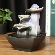 Rockery Fountain Waterfall Feng Shui Water Sound Indoor Sound Table Desk Decor